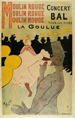 Plakat: Moulin Rouge (La Goulue);